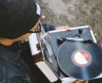 man-record-player