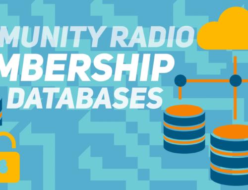 Community Radio Membership Database Advice
